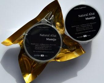 Authentic Altai Shilajit 1.76oz (50 gr) Pure Mumijo, Mumie, Mumio. SALE. Made in Altai Region of Russian Federation