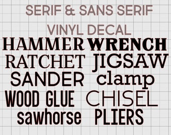 name | monogram | initails | customize | serif | sans serif | masculine | vinyl | custom | Yeti sticker | car decal |