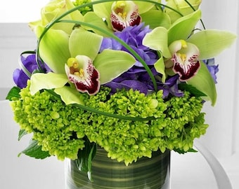 Cymbidium Orchid. Fresh Flowers. LOCAL DELIVERY to: 33160, 33180, 33154, 33162, 33179, 33004, 33009, 33019, 33020, 33021