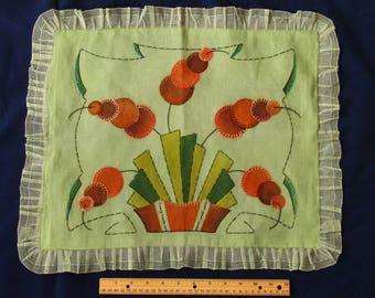 Fabulous Art Deco Pillow Cover