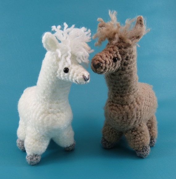 Alpaca PDF amigurumi crochet pattern