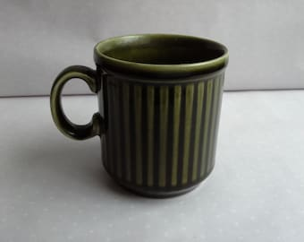 Green Cup  made in Staffordshire England  Trend by Midwinter