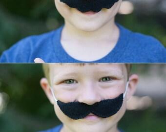 Super Mario Brothers Inspired-Child's Felt Mario & Luigi Mustaches