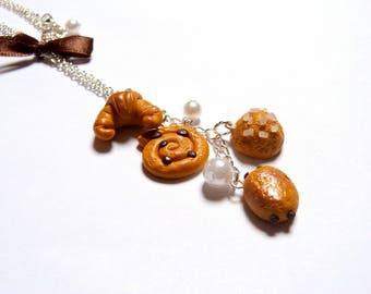 Necklace delicious pastries