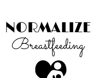 Normalize Breastfeeding Tee
