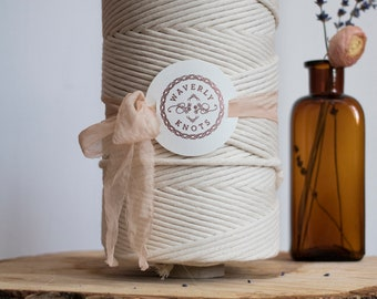 1025ft of 8mm Cotton String approx, Macrame String, Macrame Cord, Cotton Rope, Macrame Rope, Cotton Cord, Cotton String