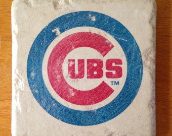 Chicago Cubs Coasters Set of 4
