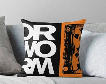 ORWORM © hatgirl.de |  Living room cushion with cover