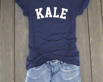 Kale Shirt - Kale Univeristy - Kale - Kale Yeah - Tumblr Shirt - Kale Tshirt