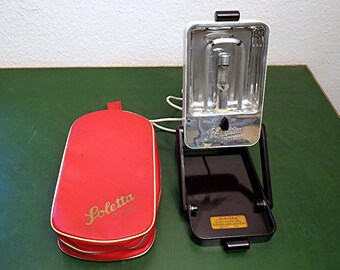 Very rare sunlamp from the 50s