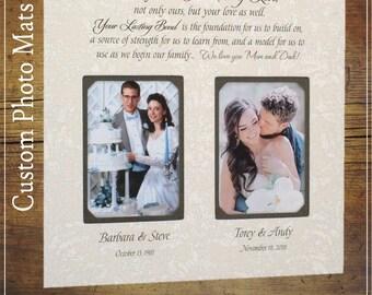 Parent wedding frame | Etsy
