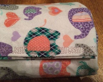 baby swaddle / receiving blanket