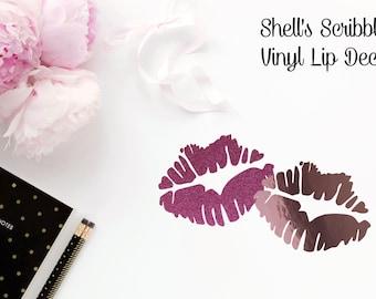 Vinyl Decal - Lips
