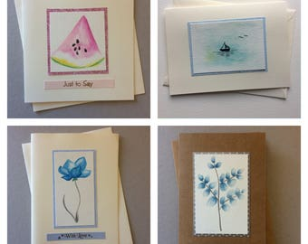 Simple various flower card for any occasion