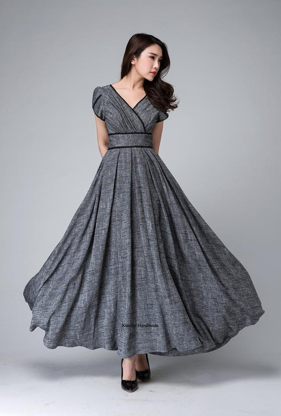Empire Dress with Straps