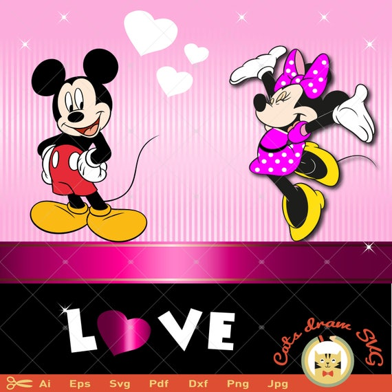 Minnie mouse svg mickey svg enamorados svg svg love disney altavistaventures Choice Image