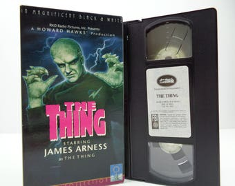 The thing VHS Tape