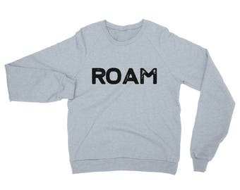 Roam Sweater - Sweater - Longsleeve Sweater - Crewneck Sweatshirt