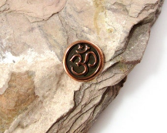 NEW TierraCast Copper Om Button *YOU Collection*