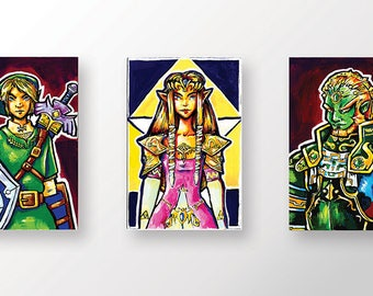 Zelda Mini Print Set