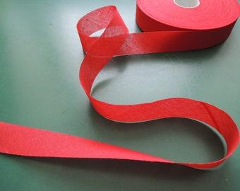 Bias tape | Cotton | unfolded | 29 mm | 1 3/16''