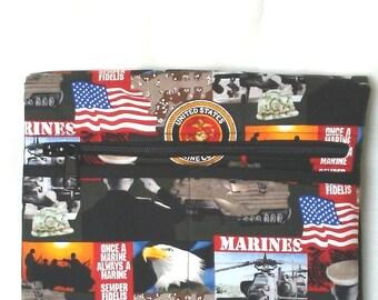 US Marine Corps Wheelchair Small Armrest Bag