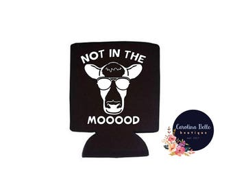 Not In The Mood Collapsible Can Cooler