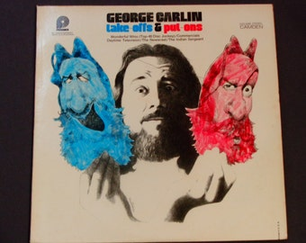 """George Carlin - Take-Offs & Put-Ons - """"Wonderful Wino"""" - Comedy - Pickwick Records Re-Issue 1972 - Vintage Vinyl LP Record Album"""
