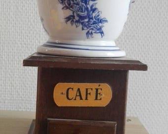 Retro coffee grinder vintage