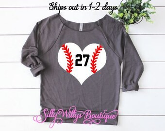 Baseball Mom shirt, Baseball heart shirt, Custom Baseball shirt, Baseball heart shirt, Softball Mom shirt, Softball shirt, Softball heart