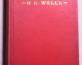 H.G. Wells The Dream First Edition 1924