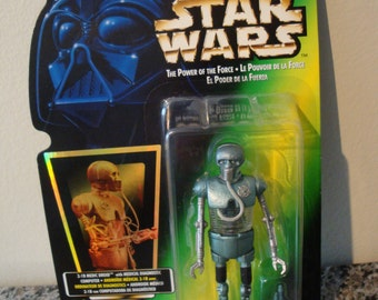 Star Wars- Power of the Force- 2-1B Medic Droid Action Figure
