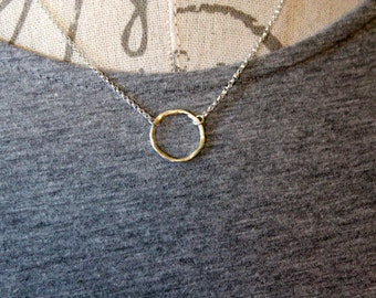 Sterling Silver Jewelry, Sterling Silver Necklace, Circle of Life Necklace