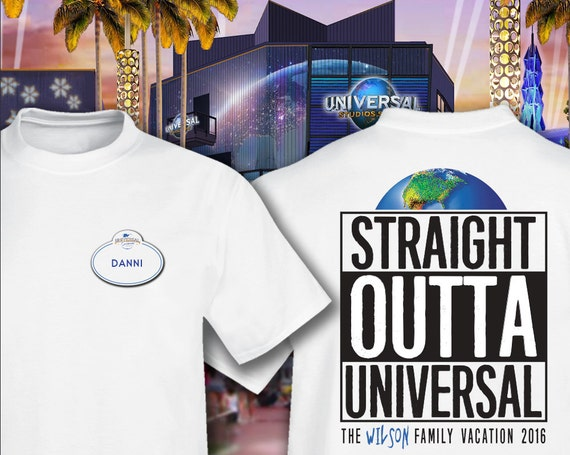 Straight Outta Universal Studios Family Vacation