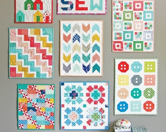 Mini Quilts Pattern by Cluck Cluck Sew CCS 160