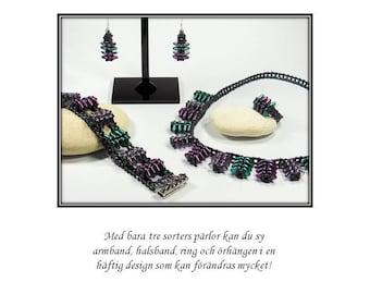 V8 smyckesset - PDF-mönster