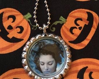 Laura Palmer Sheryl Lee Twin Peaks Jewelry Necklace Pendant Fandom