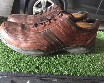 Cole Haan Brown Casual Men's Leather Shoes, Size 14