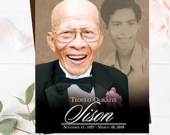 Funeral Memorial Service Program Obituary In Remembrance