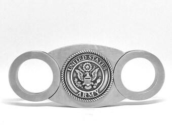 Army Cigar Cutter – Metallic