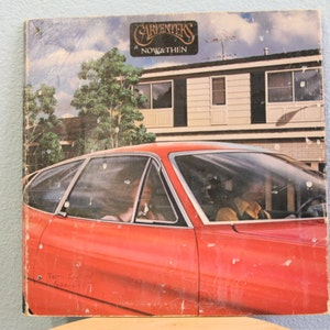 Carpenters - Now and Then vinyl record