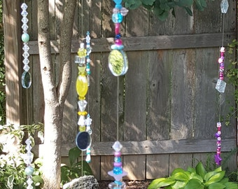 Sun catcher, garden decor, garden art, Whimsical