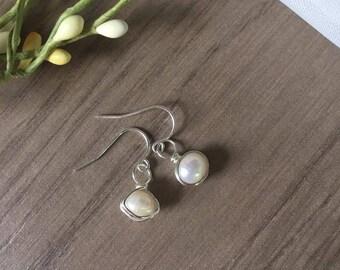 Wrapped Drop Earrings