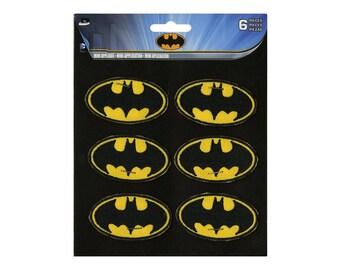 Batman Logo Iron On Applique, Batman Patch, Genuine DC Comics Iron On Patch, Batman Applique, Superhero Applique, Kids Patch
