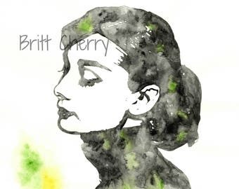 8x10 PRINT | Audrey Hepburn