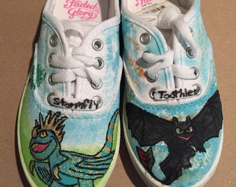 Painted Dragon shoes