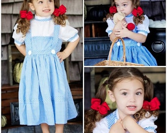 Wizard of OZ Halloween Costume -Dorothy- Child Size