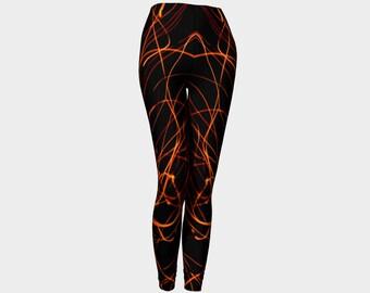 FireStarter Orginal Black Leggings 2