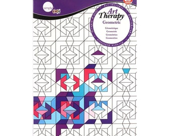 Daler Rowney Art Therapy Colouring Books - A4
