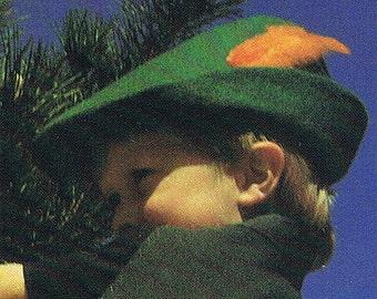 Child's Robin Hood Hat